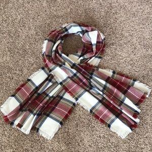 Merona Plaid Flannel Scarf